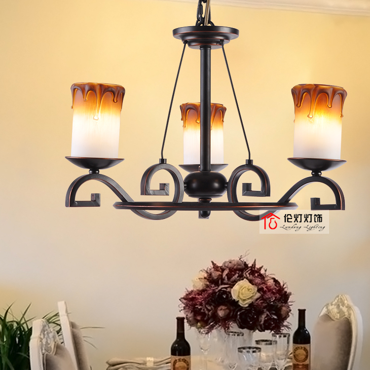 Lampes suspendues mode antique chambre escalier lampes wl028
