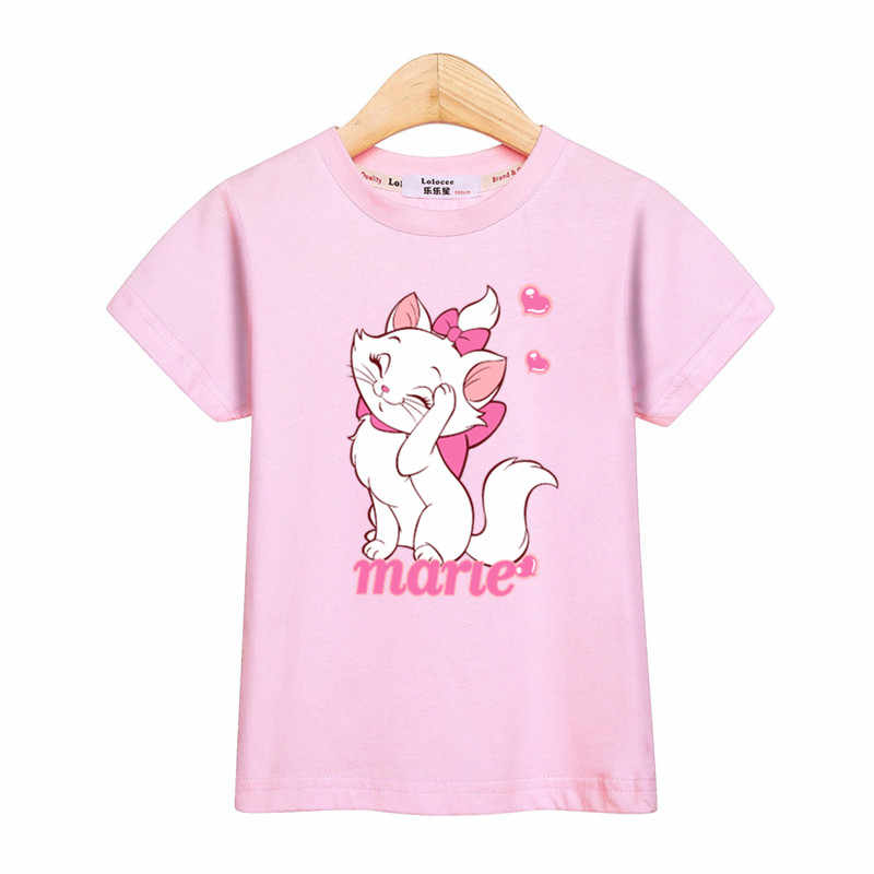 7c52a98de5122 Detail Feedback Questions about Cute Marie Cat girls tops fashion t ...