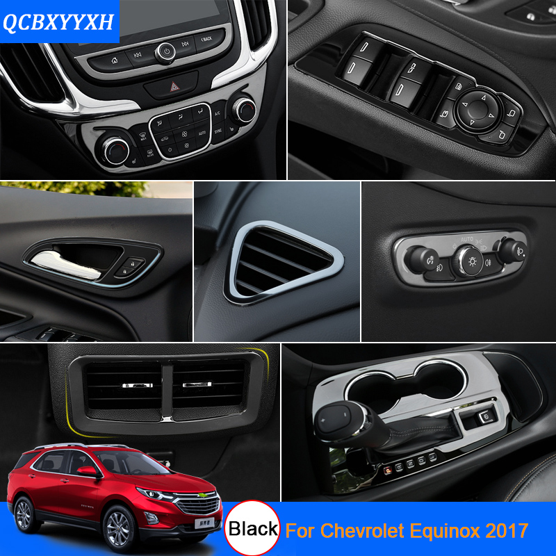 Car Styling Black Color For Chevrolet Equinox 2017 Car
