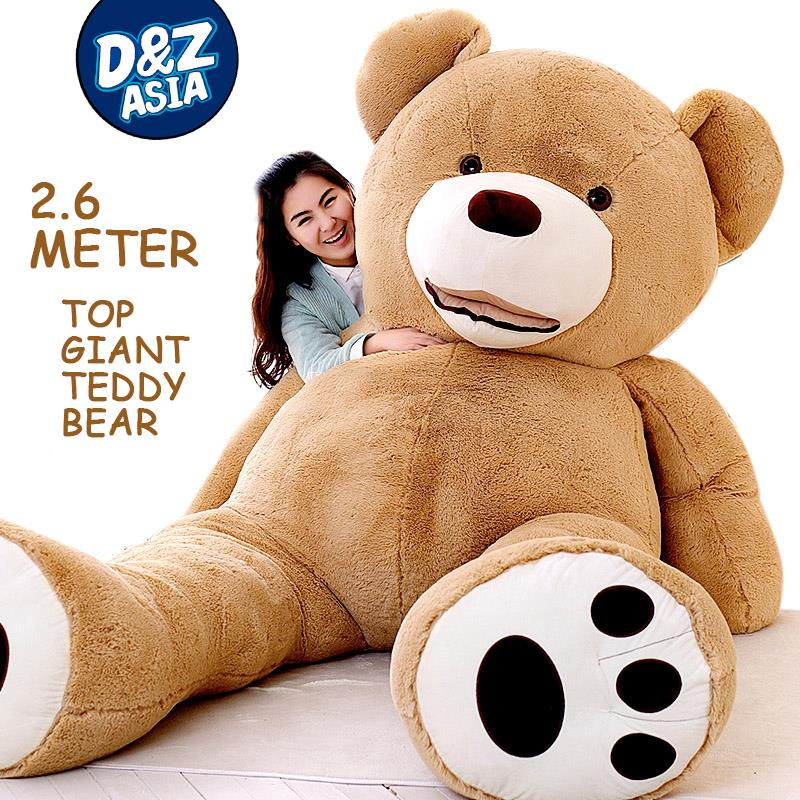 Oversize plush giant teddy bears American giant plush toys Teddy Bear plush toy doll Valentine's huge bear birthday gift cheap 340cm huge giant stuffed teddy bear big large huge brown plush soft toy kid children doll girl birthday christmas gift