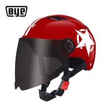 BYE Motorcycle Helmet Full Face Unisex For Scooter Capacete Crash Helmet Motocross Riding Biker Motorbike Moto Helmet