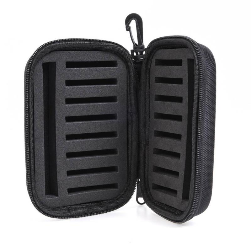Double Side Waterproof EVA Foam Fishing Tackle Bag Fly Fishing Bait Hook Lure Storage Case Pouch Organizer Fish Kits Holder BOX portable fishing tackle box lure bait hooks storage case organizer outdoor m14