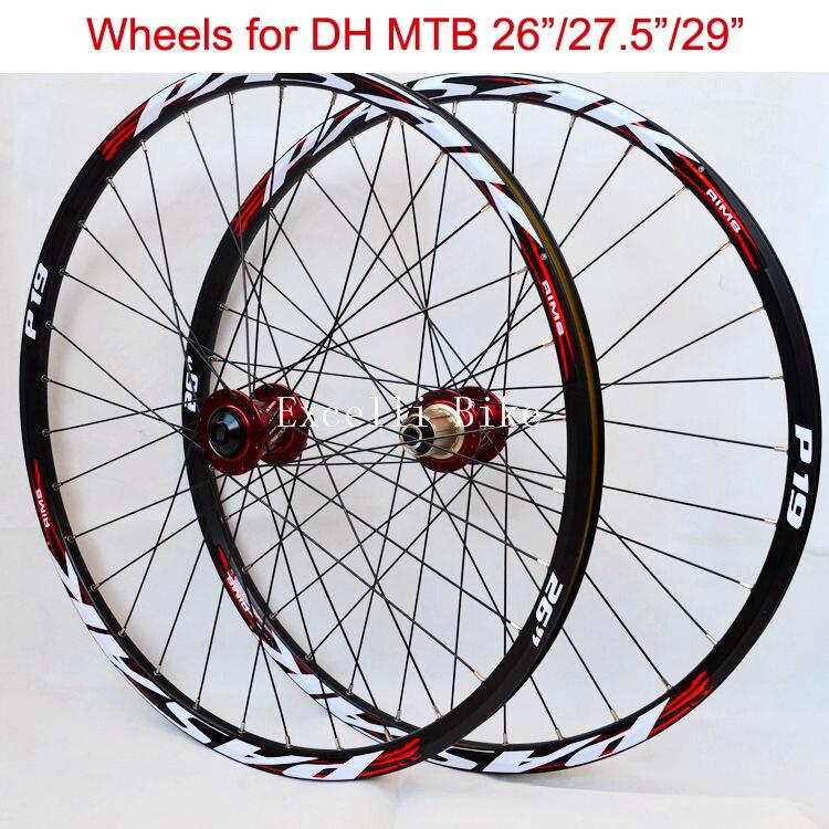 Downhill Mountain Bike2627.529 Wheels DH MTB Aluminium Alloy Wheelset 26/27.5/29er Mountain Bicicleta front 2 rear 4 Bearing rear wheel hub for mazda 3 bk 2003 2008 bbm2 26 15xa bbm2 26 15xb bp4k 26 15xa bp4k 26 15xb bp4k 26 15xc bp4k 26 15xd