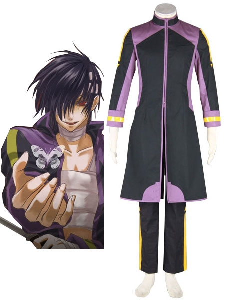 Free Shipping Vocaloid  Purple TAITO Cosplay Costumes