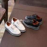 คลาสสิกการออกแบบรองเท้าสำหรับเด็กอังกฤษเรือฟอร์ดหนังรองเท้าเด็กแบนแต่เพียงผู้เดียวประ...