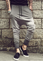 mens joggers Casual trousers harem pants men black fashion swag dance drop crotch hip hop sweat pants sweatpants for men