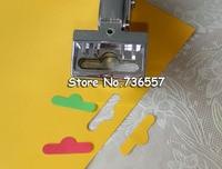 Free shipping T shape hole punch shapes furadores hardballs pvc card plier 30x6mm stationery supply