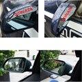 2 шт. Стайлинга Автомобилей ПВХ Автомобиля Боковое Зеркало Дождь Щит Совета автомобиль Обратно Зеркало Брови Дождевик Автомобильные Аксессуары Для Hyundai соната
