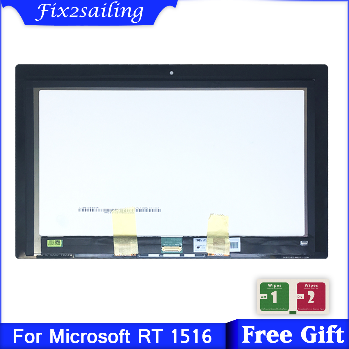 For Microsoft Surface RT 1516 RT1516 LCD Display Touch Screen Digitizer Sensors Assembly Panel Replacement(China)