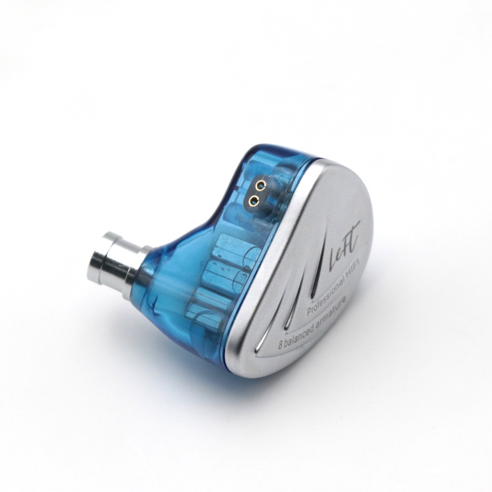 Kz as16 8ba 8 armadura balanceada driver iem estéreo de alta fidelidade fone de ouvido fone de ouvido fone de ouvido de alta resolução com 0.75mm 2 pinos cabo - 5
