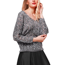 Autumn Hollow Out Knitting Harajuku Sweater Women V Neck Long Sleeve Jumper Christmas Sweaters