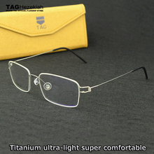 brand spectacle frames men computer glasses TAG Hezekiah optical frame woman eyeglasses vintage spectacle frames myopia glasses