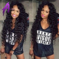 Peruvian Deep Curly Hair With Closure 4 Bundles With Closure Peruvian Virgin Hair With Closure Peruvian Deep Wave With Closure