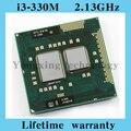 Пожизненная гарантия Core i3 330 м 2.13 ГГц 330 ноутбук процессоры ноутбук процессора PGA 988 официальная версия компьютера оригинальной аутентичной