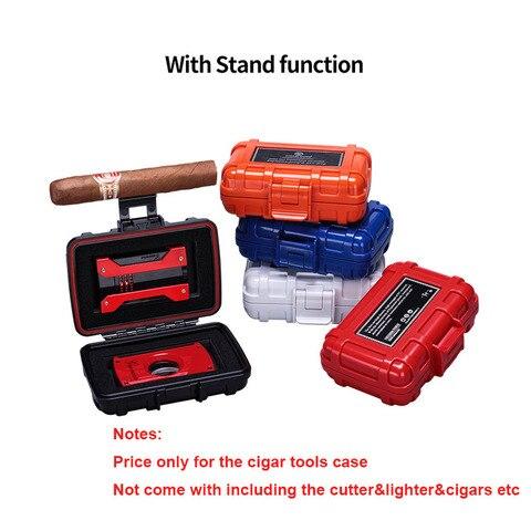 Cigar Tool case box Multifunctional for Cigar Lighter Cigar Cutter Travel Portable Box CA-0017 Pakistan
