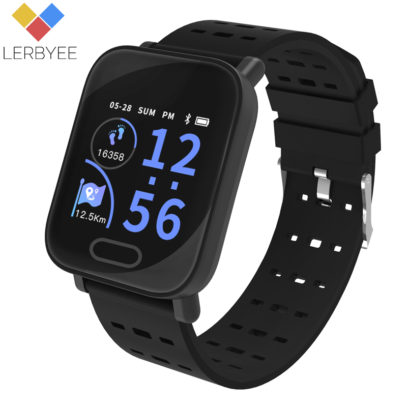 Lerbyee Smart Watch L3 Fitness Heart Rate Monitor Tracker Call Reminder Watch Sport Waterproof Smart Bracelet for iPhone Xiaomi lerbyee fitness tracker m4 heart rate monitor waterproof smart bracelet bluetooth call reminder sport wristband for ios android