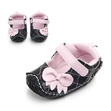 Hot Girls Bow Princess Shoes 2018 New Autumn Baby Shoes Non-