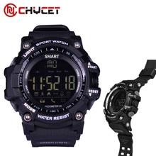 Chycet IP67 Waterproof Bluetooth Smart Watch EX16 Sport Stopwatch Wearable Devices Electronics Connecter smartwatch Alarm Clock