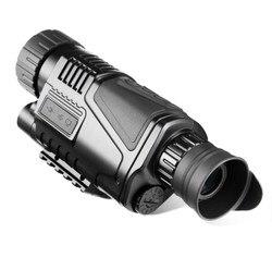 Лидер продаж! 5x40 цифровой инфракрасный охота взгляд ночного видения без термальность с видео камера ночное видение Монокуляр оружие Беспла...