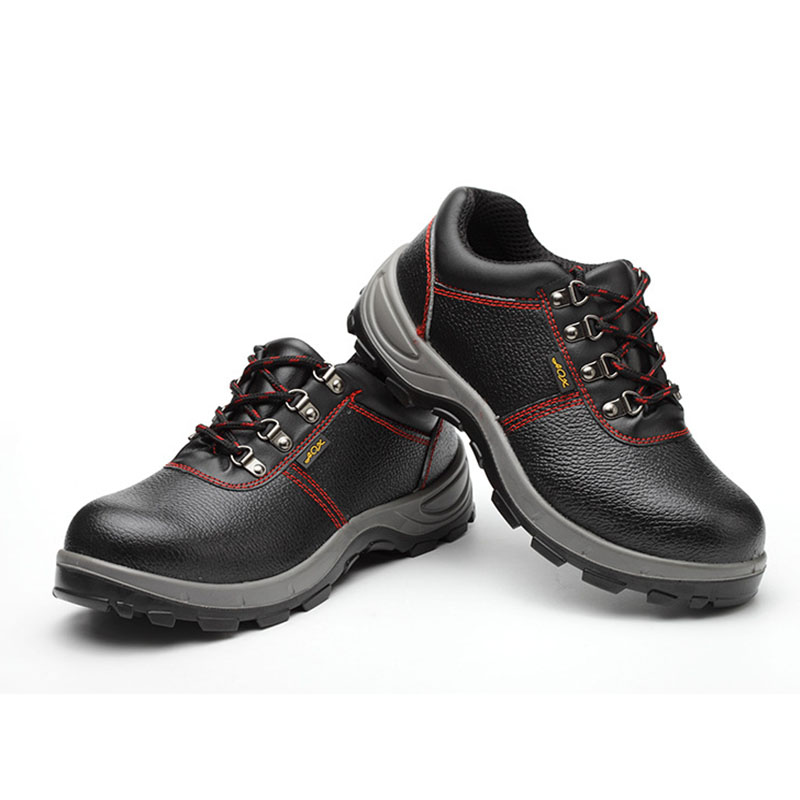Heren Laarzen Lederen 2019 Echt Leer Mannen Werken Laarzen Veiligheid Schoenen voor Mannen Anti Slip Sneakers Schoenen Beschermende Schoenen - 6