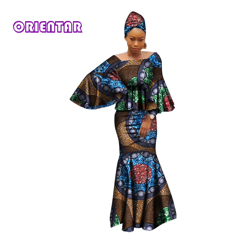 d305ae9250f7 african dresses for women 100% cotton 2018 new african fashion kanga ...