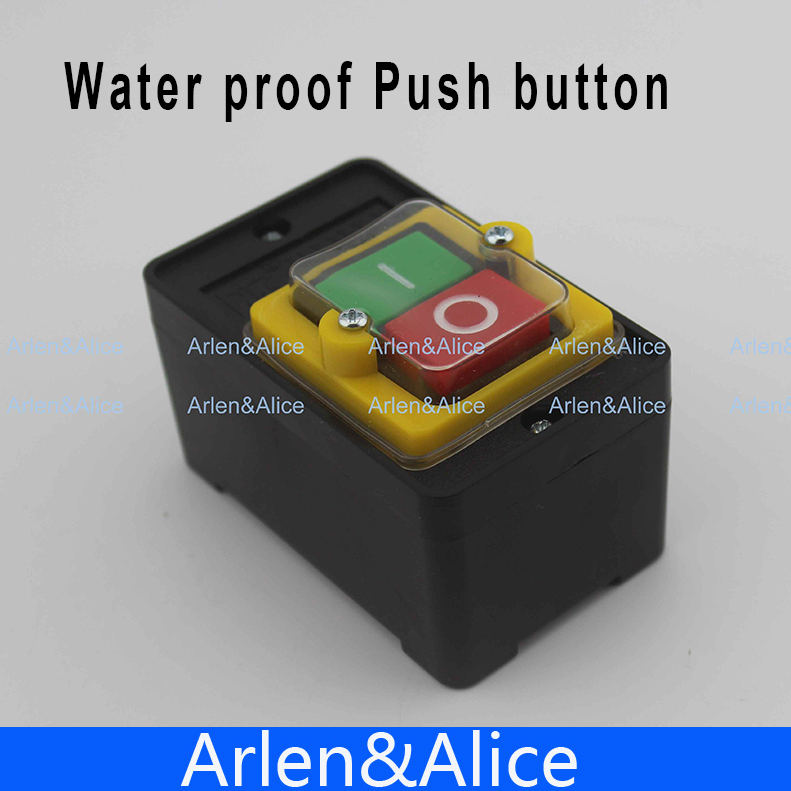 ON/OFF Water proof Push button Switch MAX 10A 380V|switch dpdt|switch dropsswitch kvm - AliExpress