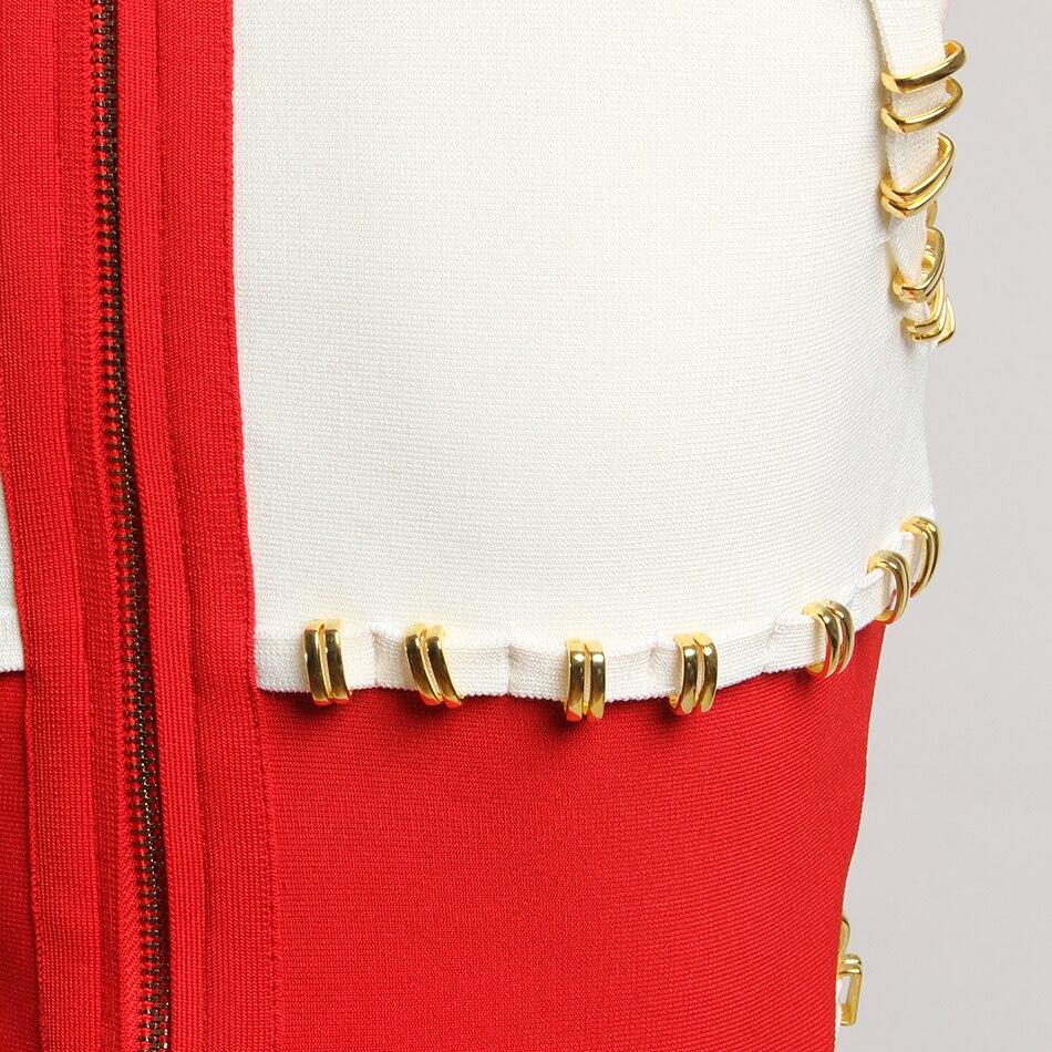 Bandage Round Neck Knee Length Dress