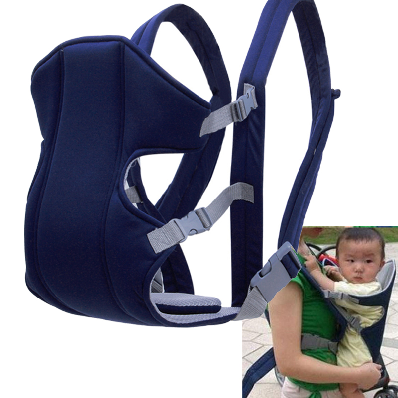 Ergonomic Baby Carrier Front Facing Baby Carrier Sling Mesh Backpack Pouch Wrap Baby Kangaroo Backpack For