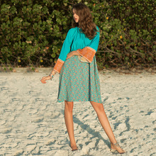 Hot-selling New Long-sleeved Standing-collar Dresses for Bohemia Leisure Beach Holiday in Spring and Summer of 2019