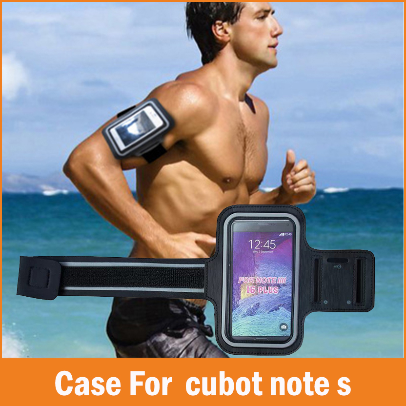 New Sports GYM Running fundas Coque For Cubot Note S Case 5.5 inch Waterproof Jogging Arm Band Phone bag Cases Cover Accessories