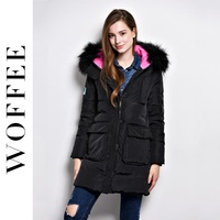 Woffee Fur Hooded Down Jackets Women S Winter Coat Parka Winter Jacket 90 Duck S Down