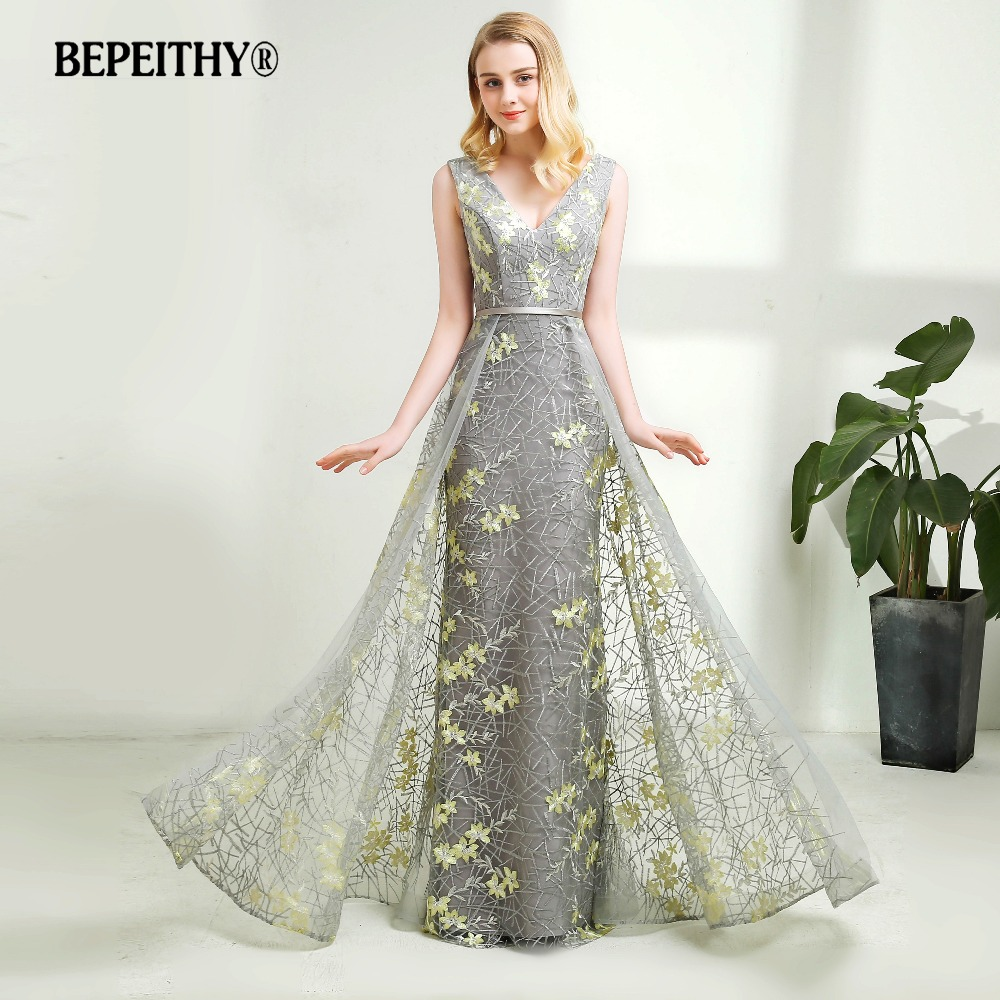 Designer Evening Dresses Sale On White: Aliexpress.com : Buy Vestido Longo Lace Long Prom Dresses