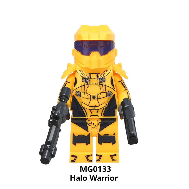 ccf9b7ebefda New Compatible Halo 5 Guardian Warriors LegoINGlys Mini Figure for Fans  Best Christmas Gift To Children-in Figurines from Toys   Hobbies on  Aliexpress.com ...