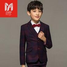 2017 Детские комплекты одежды для отдыха для маленьких детей костюмы для мальчиков Пиджаки для женщин жилет праздничная одежда джентльмена для свадебных вечеринок