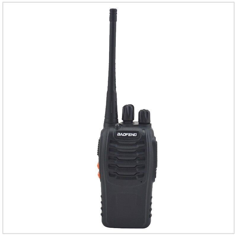 Walkie Talkie Baofeng Radio BF-888S Color negro UHF 400-470MHz 16 canales, Radio bidireccional portátil Antena de Quad Band de Radio móvil, 144/220/350/440MHz, para walkie talkie de coche QYT KT-7900D, antena móvil de ANT-7900D