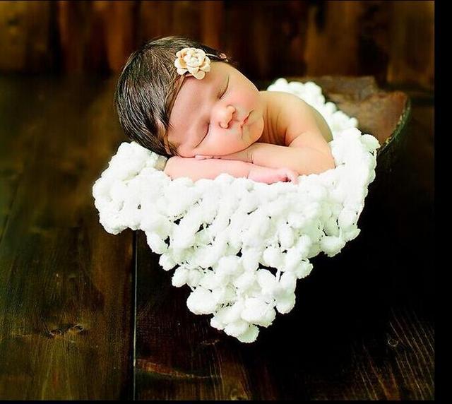 88c4030266f1 2015 Newborn Unisex Baby Newest Ball Background Blanket Photography ...