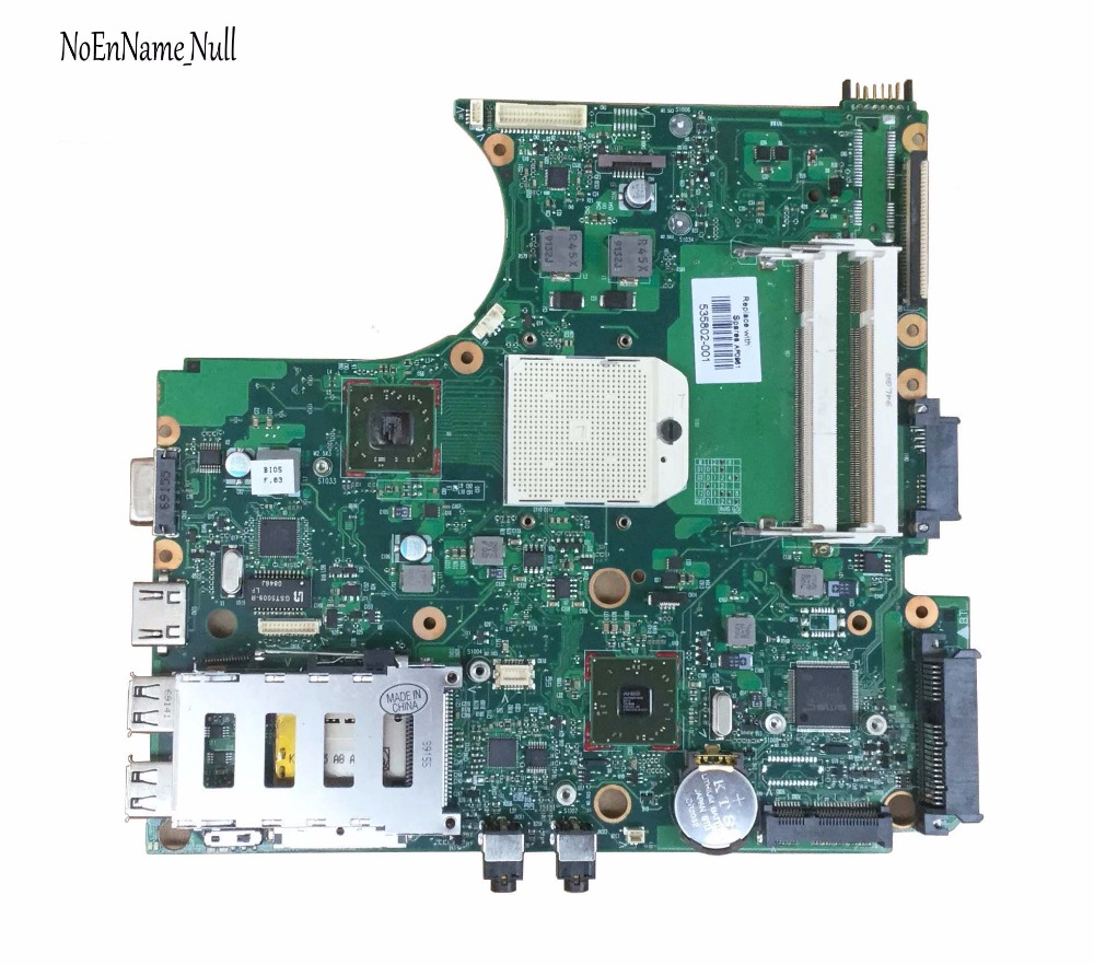 FREE SHIPPING 535802-001 LAPTOP MOTHERBOARD FOR HP PROBOOK 4415S 4515S Laptop Motherboard DDR2  100% Fully Tested !!