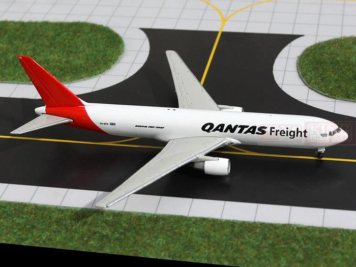 GJQAF1040 GeminiJets Australia cargo air B767-300F commercial jetliners plane model hobby geminijets gjaaa814 a320 vh hyy 1 400 ansett australia commercial jetliners plane model hobby
