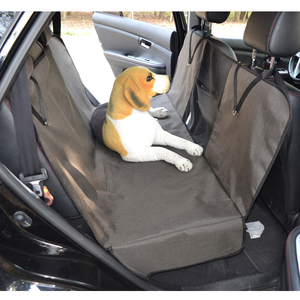 Visible Oxford Seat Covers Waterproof Hammock Back Bench Rear Mat For Pets Dogs Cars