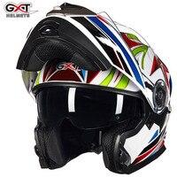GXT Motorcycle Racing Helmet Capacetes De Motociclista Motorcycle Vintage Helmets With Dual Lens Open Face Motorcycle