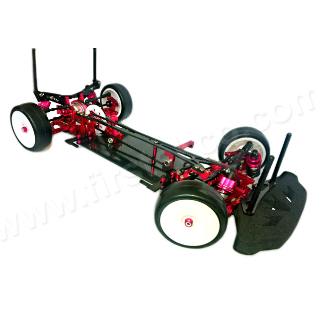 Carbon Chassis Aluminum Parts 1 10 Rc Racing Touring Car Kit For