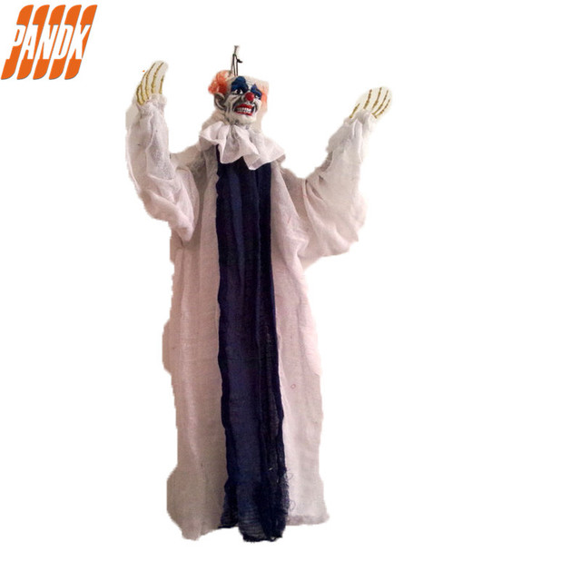 hanging latex devil clown hanging zombie halloween decorations halloween props haunted house halloween party halloween yard - Zombie Halloween Decorations