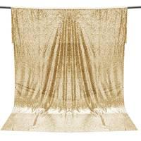 Overvalue 4FT * 6FT Шампанское золотые блестки ткань фото фон декорации для свадебной фотосъемки Декор ткань материал для рукоделия