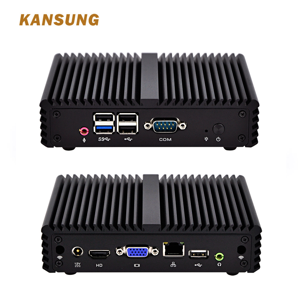 Thin Client Types Of Low Cost Mini Pc Fanless Brand New Desktop Computer Celeron J1900 Quad Core Processor With VGA And HD Port