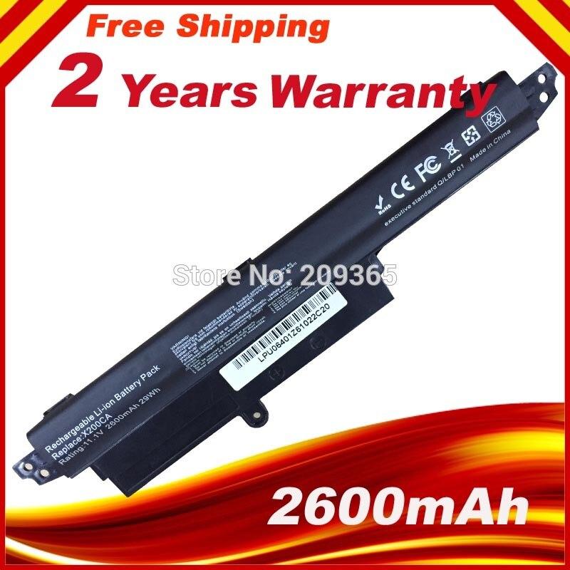 Laptop Battery For ASUS VivoBook X200CA X200MA X200M X200LA A31N1302 Battery 11.6