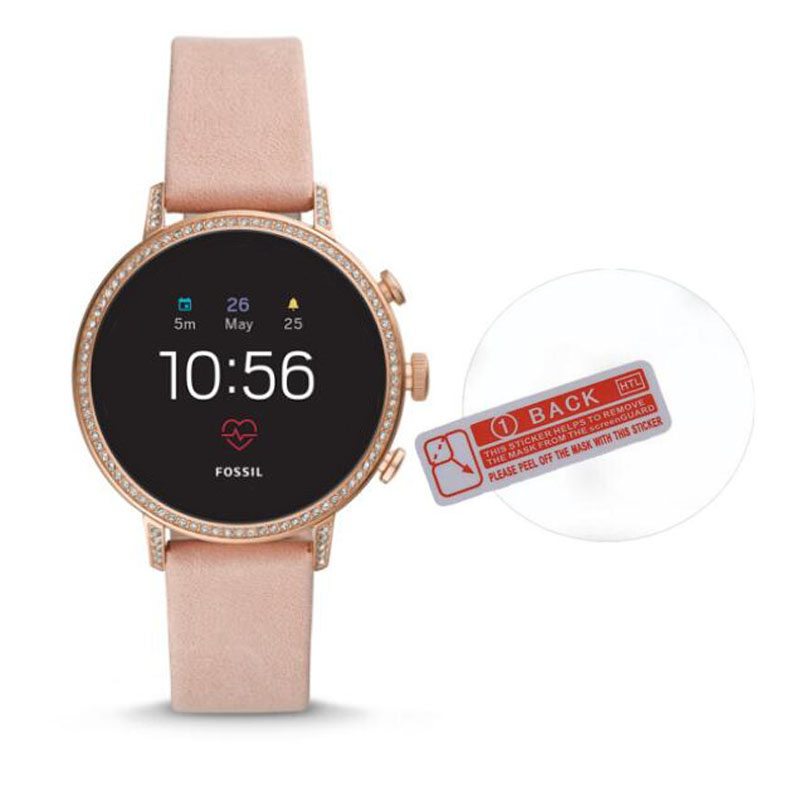 Protective-Film Screen-Protector Smartwatch Tempered-Glass Fossil Q Venture for HR Gen