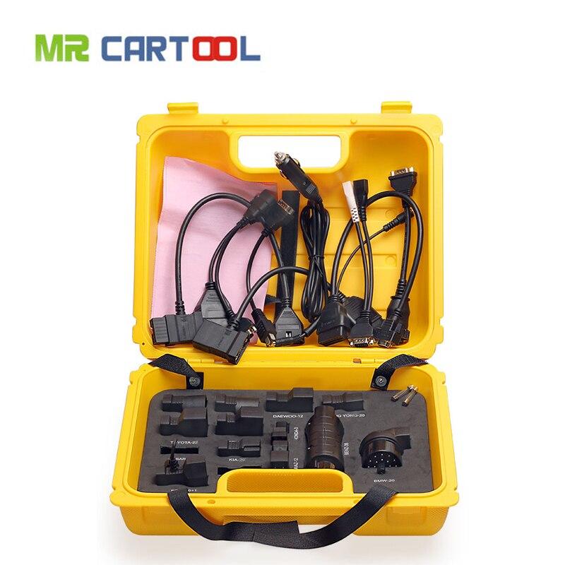 Недавно диагностический инструмент Старт X431 iDiag Разъем полный набор Вышивка Крестом Пакет X-431 EasyDiag адаптер Старт X431 желтая коробка Бесплатн...