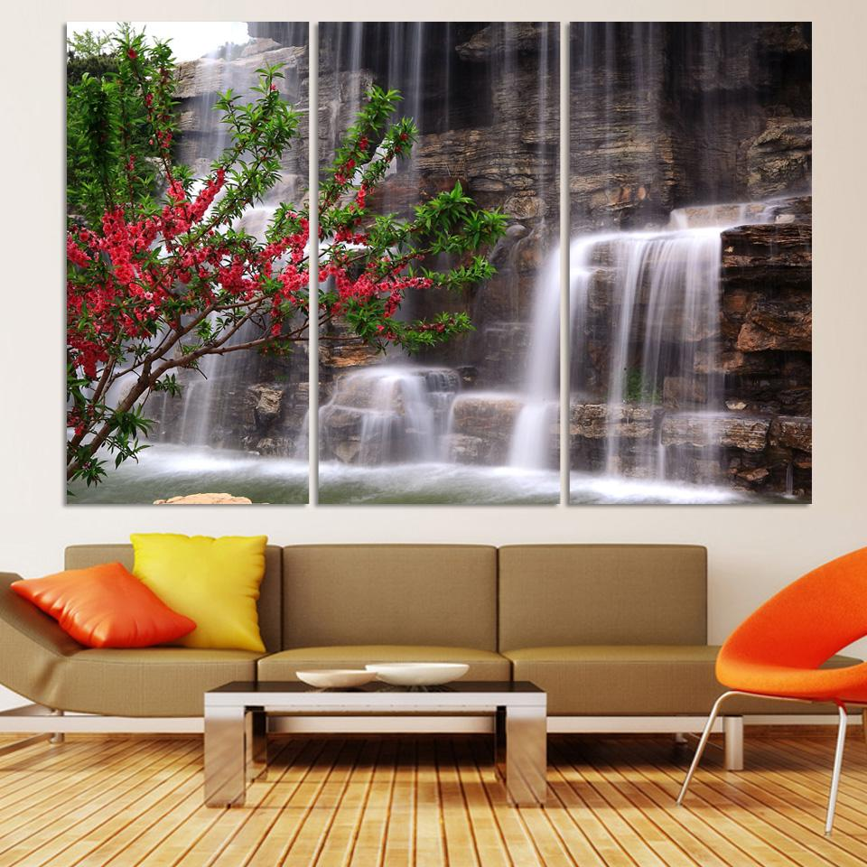 Compare Prices on Waterfall Wall Art Online ShoppingBuy Low