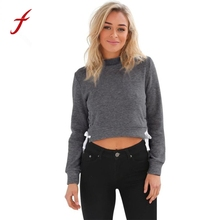 Long Sleeve Sweatshirt Women Round Neck Tracksuit Jumper Pullover Fashion high quality Sweatshirt Tops Blusa sweatshirt Female