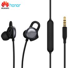 Original Huawei Honor AM16 Earphone 3.5mm With Mic APP Real-time Heart Rate Detection Heart Index Relax training Sport Earphones
